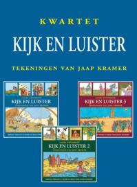 Zwoferink, Laura en Kramer, Jaap-Kwartet Kijk en Luister (nieuw)