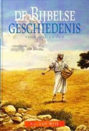 Wijk, B.J. van--De Bijbelse Geschiedenis voor jong en oud (nieuw)