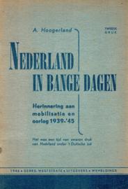 Hoogerland, A.-Nederland in bange dagen