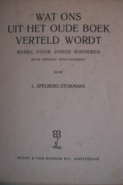 Spelberg-Stokmans, L.-Wat ons uit het oude boek verteld wordt