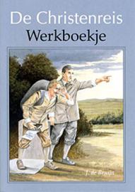 Bruijn, J. de-De Christenreis Werkboekje + Stickers (nieuw)