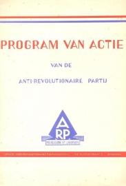 Program van Actie van de Anti Revolutionaire Partij
