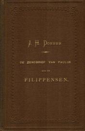 Donner, J.H.-De Zendbrief van Paulus aan de Filippensen