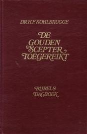 Kohlbrugge, Dr. H.F.-De gouden scepter toegereikt