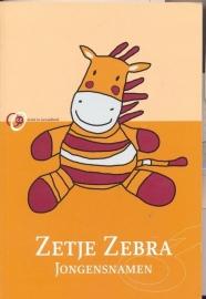 Plassche, Marc-Zetje Zebra Meisjesnamen en Jongensnamen