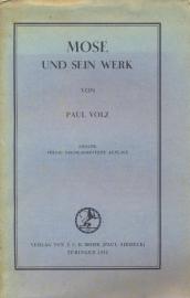 Volz, Paul-Mose und sein Werk