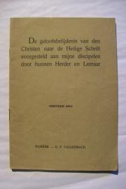 NN-De geloofsbelijdenis van den Christen...
