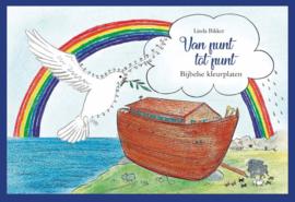 Bikker, Linda-Van punt tot punt; Bijbelse kleurplaten (nieuw)