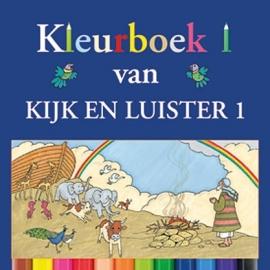 Kramer, Jaap-Kleurboek bij Kijk en Luister 1 (nieuw)
