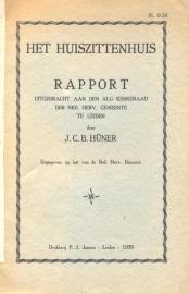 Huner, J.C.B.-Het Huiszittenhuis