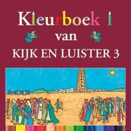 Kramer, Jaap-Kleurboek bij Kijk en Luister 3 (nieuw)