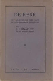 Knap Czn, Ds. J.J.-De Kerk