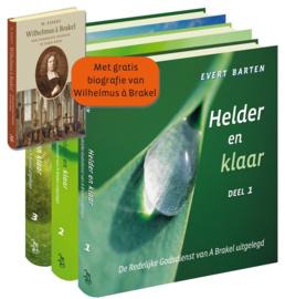 Barten, Evert; Fieret, Dr. W.-Set Helder en klaar + Biografie Wilhelmus a Brakel (nieuw)