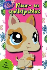 Littlest PetShop-Kleur en spelletjesblok (nieuw)