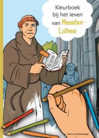 Oostenbrugge, Daan van-Kleurboek bij het leven van Maarten Luther (nieuw)