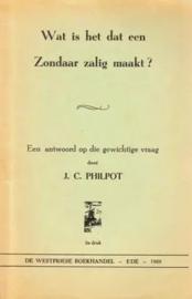 Philpot, J.C.-Wat is het dat een zondaar zalig maakt?