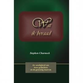 Charnock, Stephen-Wat ik beraad (nieuw)