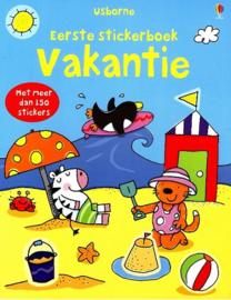 Usborne-Eerste stickerboek Vakantie (nieuw)