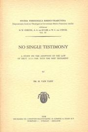 Andel, Dr. C.P. en Vliet, Dr. H. van-Studia Theologica Rheno Traiectina