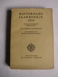 Hazewinkel, Mr. H.C. (red.)-Rotterdams Jaarboekje 1954