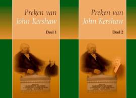 Preken van John Kershaw-Set deel 1 en 2 (nieuw)