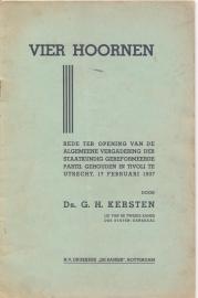 Kersten, Ds. G.H.-Vier Hoornen