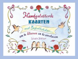 Bikker, Linda-Handgeletterde kaarten met Bijbelteksten (nieuw)