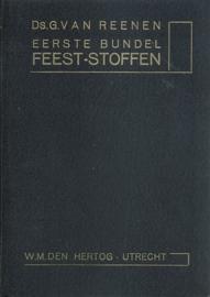 Reenen, Ds. G. van-Eerste bundel Feeststoffen
