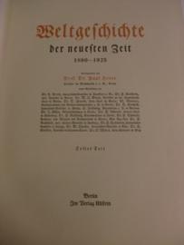 Herre, Prof. Dr. Paul-Weltgeschichte der neuesten Zeit