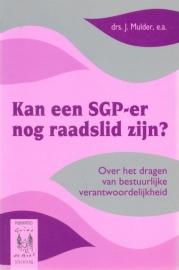 Mulder, Drs. J.-Kan een SGP-er nog raadslid zijn?