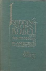 Prof. Dr. A.M. Brouwer en Prof. Dr. H. Th. Obbink-Inleiding tot den Bijbel