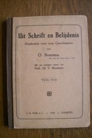 Boersma, Ds. O.-Uit Schrift en Belijdenis