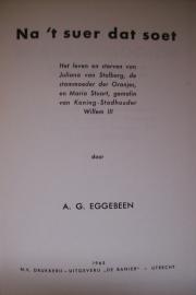 Eggebeen, A.G.-Na `t Suer dat Soet