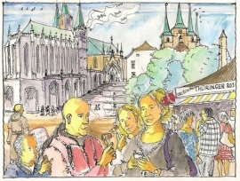 Bos, Bernard-De geur van braadworst-Over het leven van Maarten Luther (nieuw)