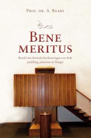 Baars, Prof. Dr. A.-Bene Meritus (nieuw)
