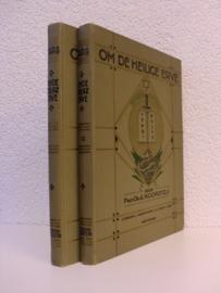 Noordtzij, Prof. Dr. A.-Om de Heilige Erve (2 delen)