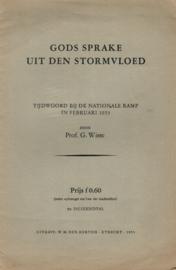 Wisse, Prof. G.-Gods sprake in den stormvloed