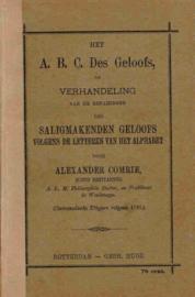 Comrie, Dr. Alexander-ABC des Geloofs