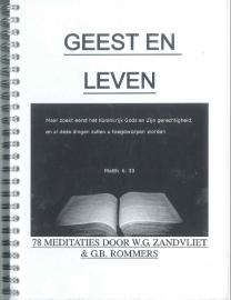 NIEUW: Rommers, G.B. en Zandvliet, W.G.-Geest en Leven