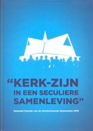 Commissie Synode Ger. Gem.-Kerk-zijn in een seculiere samenleving