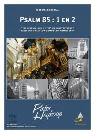 Heykoop, Pieter-Voorspel en koraal Psalm 85 vers 1 en 2 (nieuw)