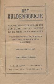 Predikant, Een-Het Guldenboekje