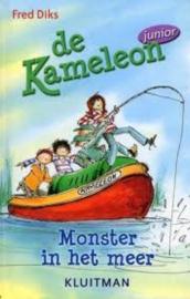 Diks, Fred-De Kameleon; Monsters in het meer