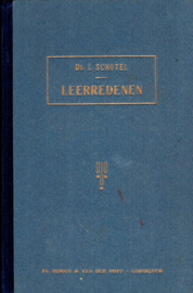 Schotel, Ds. J.-Leerredenen