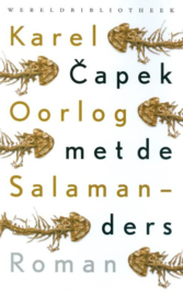 Capek, Karel-Oorlog met de Salamanders