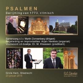 CD Samenzang-Psalmen uit de Grote Kerk van Sliedrecht