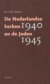 Snoek, Ds. J.M.-De Nederlandse kerken en de Joden