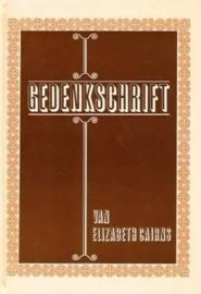 Cairns, Elizabeth-Gedenkschrift