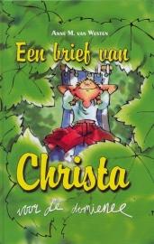 Westen, Anne M. van-Een brief van Christa voor de domienee