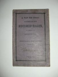 Berg, A. van den-Bijbelsche Historievragen